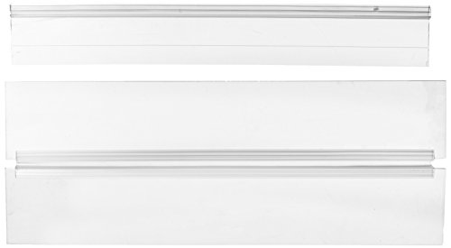 31YYRK2fbmL - Deep Blue Professional ADB31608 Standard Glass Canopy Set, 16 by 8-Inch