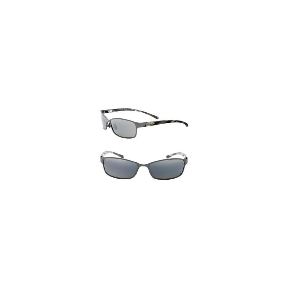 Maui Jim Shoreline Sunglasses   Polarized Gloss Black, One Size