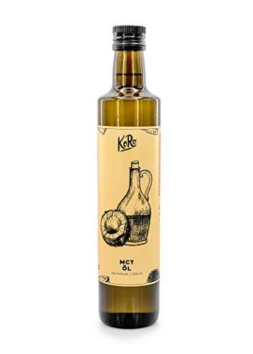 KoRo – MCT Olie 500 ml – Smaakloze gewonnen kokosolie – Optimaal geschikt voor sporters en veganisten