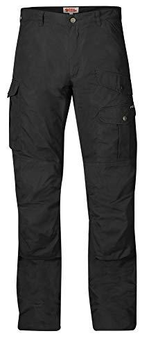 Fjallraven Mens Barents Pro Trousers Black/Black 48 (US Mens 32) L