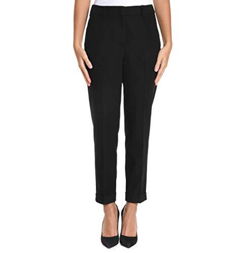 Pantaloni Nero Cappellini M04655d01985905 Donna Poliestere vW0q70
