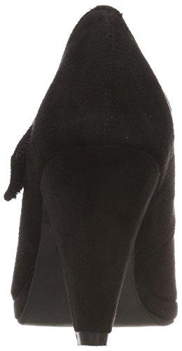 Cerrada Tacón Zapatos De Andrea Punta Con 3591515 Negro Para 002 schwarz Mujer Conti xwqng0Ua4