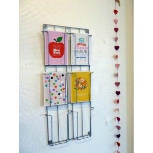 Lovely Tape - Présentoir à cartes postales en métal - 6 cases ...
