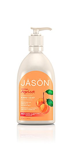 and Soap Glowing Apricot, 16 Fluid Ounce (Jason Liquid Moisturizer)