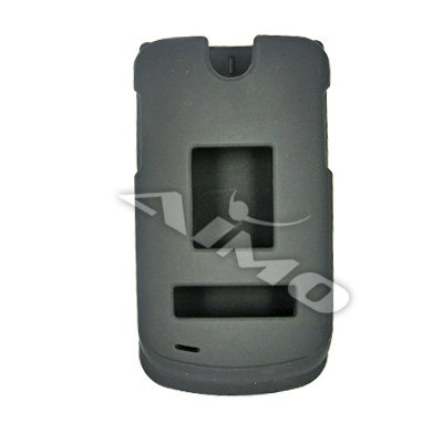 LG VX8600 Protector Case Bubberized Black New