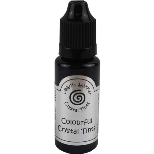 Cosmic Shimmer Crystal Tints 20ml - Black Jet ()