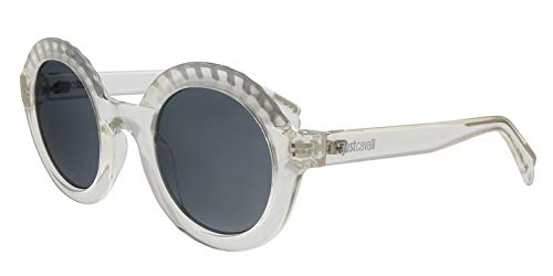 Just Cavalli JC747S 22C Clear Round Sunglasses for Womens