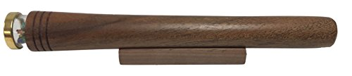 N & J Kaleidoscope in Solid Walnut Wood, 6 Inch Barrel, Beaded Turning Chamber, 3 Mirror System by N & J (Image #6)
