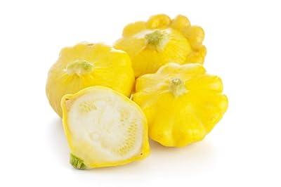 Summer Squash, Sunburst Hybrid Squash Seeds