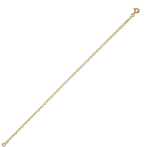 DIAMANTLY Collier or 750 forcat miroir clair 2,2 mm - 40 cm