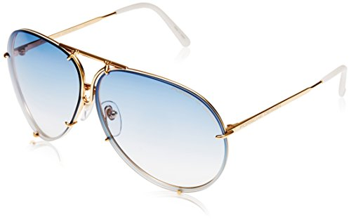 Porsche Design Sunglasses, Gold, 69mm (Porsche Design Eyewear)