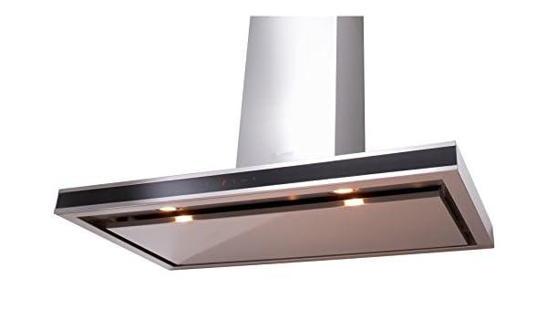 Silverline Venezia Deluxe - Funda para chimenea (90 cm, acero inoxidable): Amazon.es: Grandes electrodomésticos