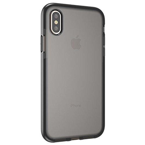newest eaf8a cd5a8 Apple iPhone X Evo Mesh Case, Flexible Slim Grippy Hybrid TPU Bumper  Protection Case with Flexshock for iPhone X (Black)