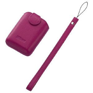Nikon 25862 CS-CP4-1 Leather Case for Coolpix S01 (Pink)
