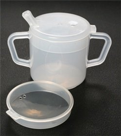 Independence Two-Handled 8oz Cup With 2 Lids