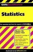Statistics (Cliffs Quick Review) 1st (first) edition ebook