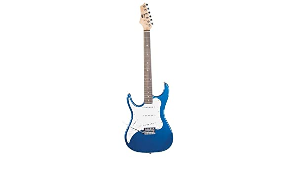 Axl Headliner Series Guitarra eléctrica, acústica, 3/Color azul metálico, zurdos: Amazon.es: Instrumentos musicales