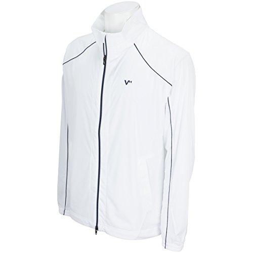 じゃない岩体操選手ビバハート VIVA HEART アウター(ブルゾン、ウインド、ジャケット) Splash knit ラグラン2枚袖ブルゾン オフホワイト 05 52(LL)