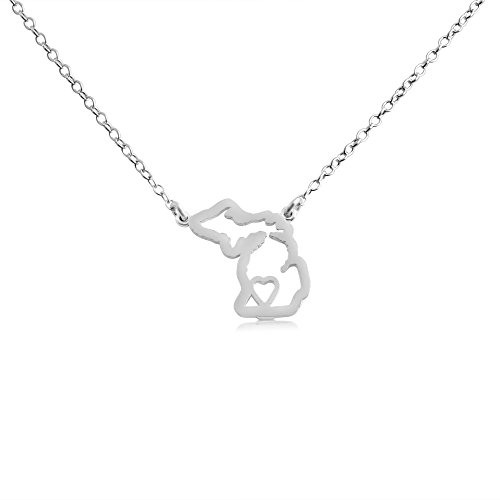 925-sterling-silver-small-michigan-home-is-where-the-heart-is-home-state-necklace-14-inches