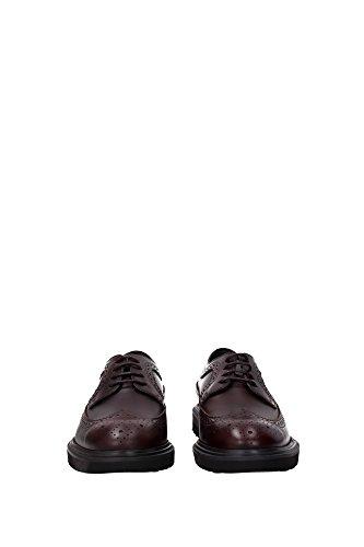 Tod's - Zapatos de cordones para hombre rojo rojo 4sAC2tibf