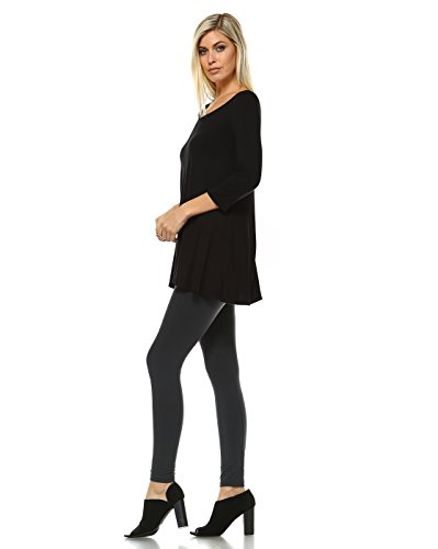 54ebae0a80b31 Amie Finery Tunic Tops For Leggings For Women 3 4 Sleeve Shirts For Women  Long Made
