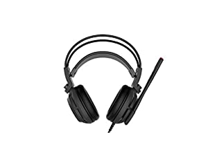 MSI Gaming Headset with Microphone, Enhanced Virtual 7.1 Surround Sound, Intelligent Vibration System (DS502)