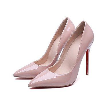 à pink Noir Aiguille amp; blushing Confort Rose10 Chaussures Femme à Eté ggx Mariage Talons Talon LvYuan Habillé Printemps Cuir Confort Soirée Evénement Marche Verni F1HgwqnO