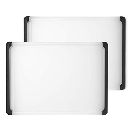 OXO Good Grips Utility Cutting Board (2 Pack) (Cutting Board Oxo Good Grips)