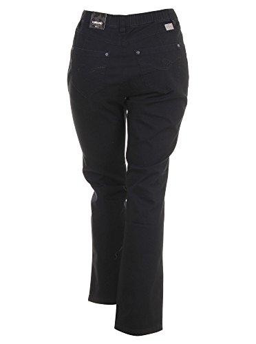 Jeans Betty Straight Leg in schwarz in Übergrößen (50) von KJ Brand