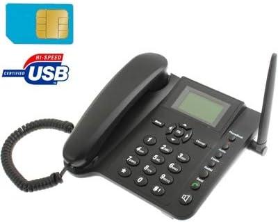 Teléfono con tarjeta Sim GSM, fijo, de mesa o escritorio. TIM ...