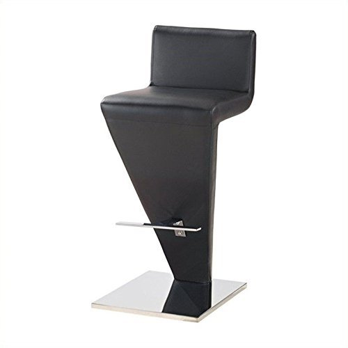 Global Furniture PVC Bar Stool, Black For Sale