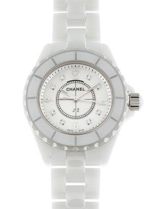 new concept 69137 1e707 Amazon | [シャネル]CHANEL 腕時計 H2422 J12 33mm 白セラミック ...