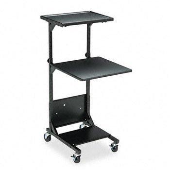 BALT® Adjustable Height Projection Stand STAND,PROJECTN,ADJSTBL,BK BPL-0111 (Pack of2)