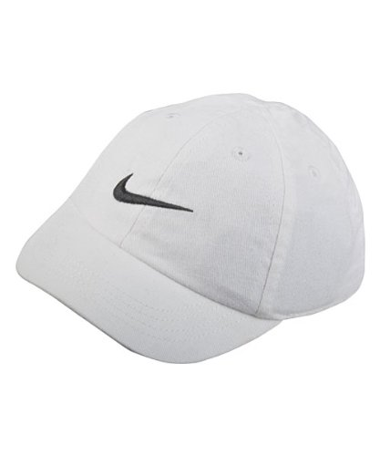 Galleon - NIKE Toddler Just Do It Sports Hat Adjustable Sun Cap (White W   Signature Black Swoosh) b694e7ac58bd
