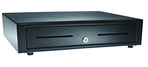 APG VB320-BL1616-B10 Vasario Series Standard-Duty Painted-Front Cash Drawer with MultiPRO 320 Interface, 24V, 16.2