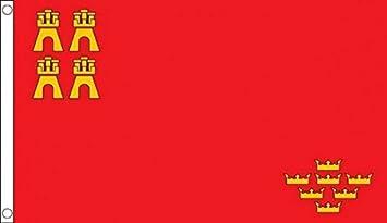 España Murcia 152,4 cm x3 (150 cm x 90 cm) bandera
