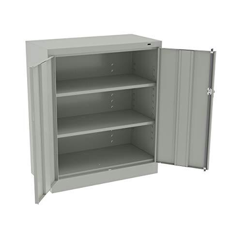 (Tennsco 4218 Standard Welded Counter High Storage Cabinet, 36