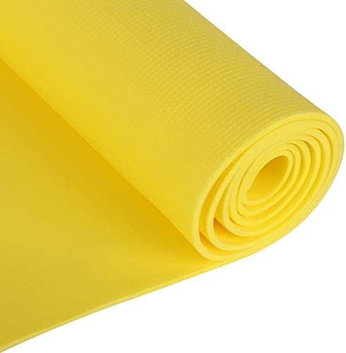 Green Foldable Yoga Mat Sports Accessory Dampproof Anti-slip Workout Fitness Pad