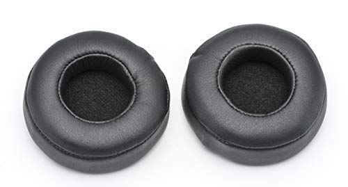ADMLC Replacement Ear Pad/Ear Cushions/Ear Cups/Ear Cover/Earpads Repair Parts For Beats Dr.Dre MIXR Headset Over-Ear Headphones,1 Pair,Protein Leather By ADM-LC (Black)
