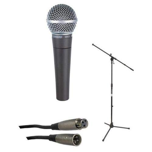 (Shure SM58, Stand & Cable Package)