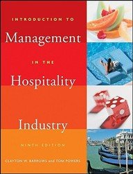 Introduction To Management In The Hospitility Industry