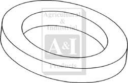 A&I Products Seal, Rear Axle (2 3/4