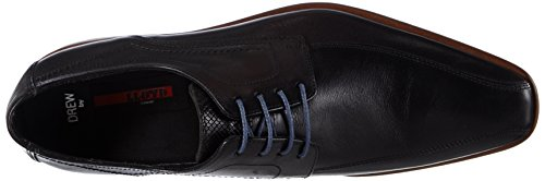 Lloyd Drew, Zapatos de Cordones Derby para Hombre Negro - Schwarz (SCHWARZ 0)