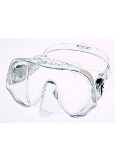 Atomic Aquatics Frameless Scuba Diving Dive Mask, Clear Regular by Atomic Aquatics