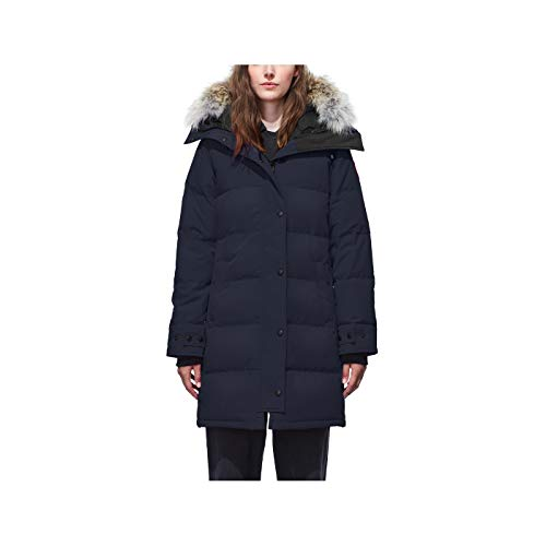 Canada Goose Women's Shelburne Parka Coat (Small, Admiral Blue)