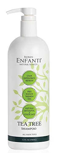 Tea Tree Cleansing Shampoo (Bioken Enfanti Tea Tree Shampoo - 32 oz)