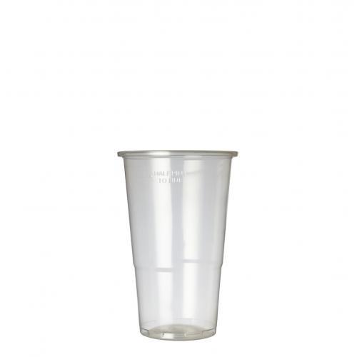 Plastico FG613COXOB Oxo-Biodegradable Flexi-Glass-Half-Pint to line Pack of 1000