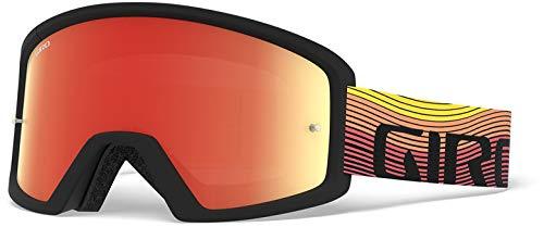 Giro Blok MTB Goggle Orange schwarz Heatwave, Amber Clear 2019 Goggles