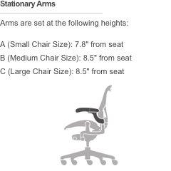 ffe43c3d6df6 Herman Miller Aeron Task Chair  Standard Tilt - Zonal Back Support - Fixed  Arm -
