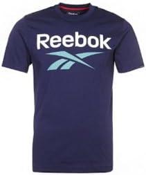 Reebok - Z28459 - Camiseta Hombre - Color : Azul Marino - Talla : M: Amazon.es: Deportes y aire libre